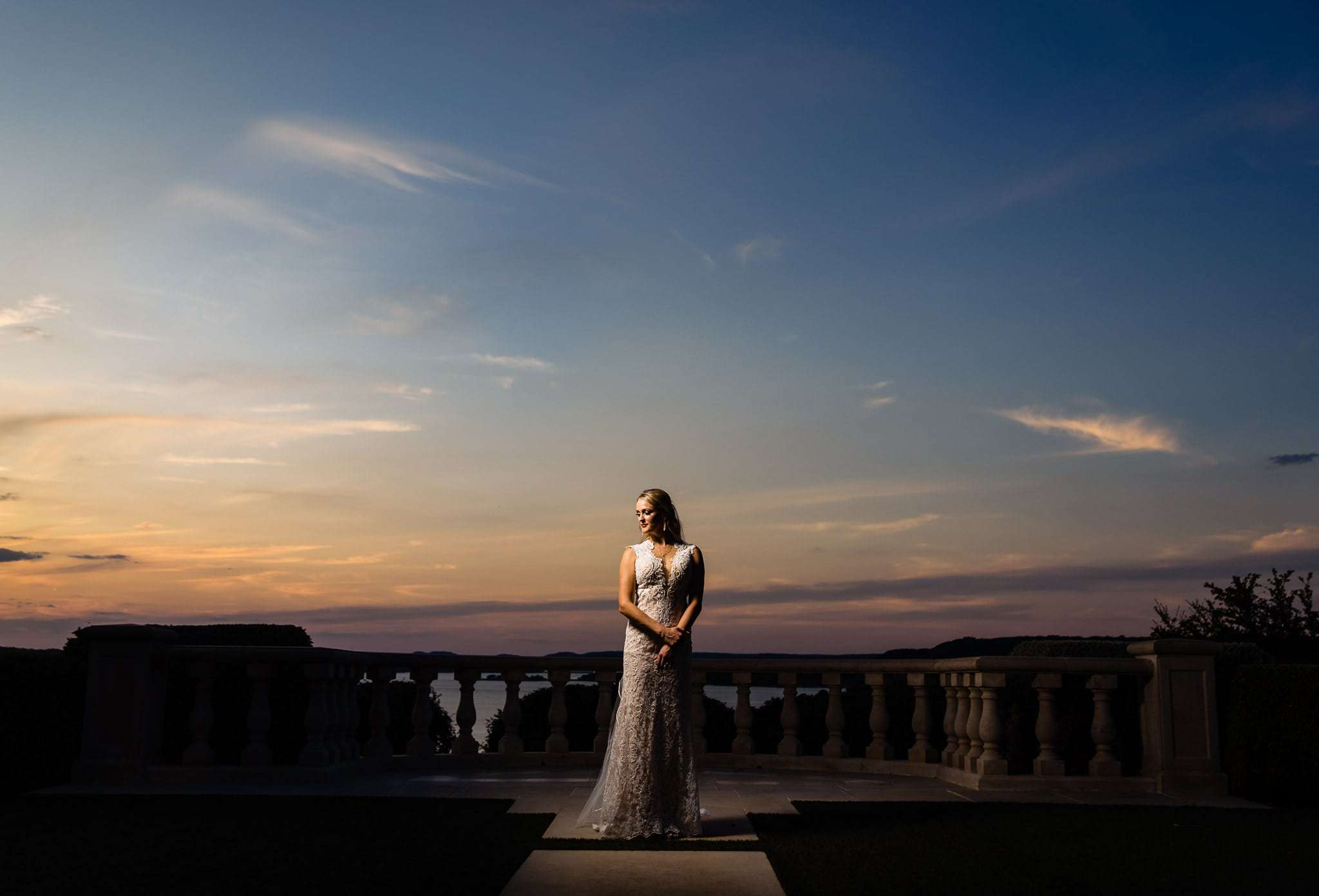 austin wedding photographer best bridal image sunset