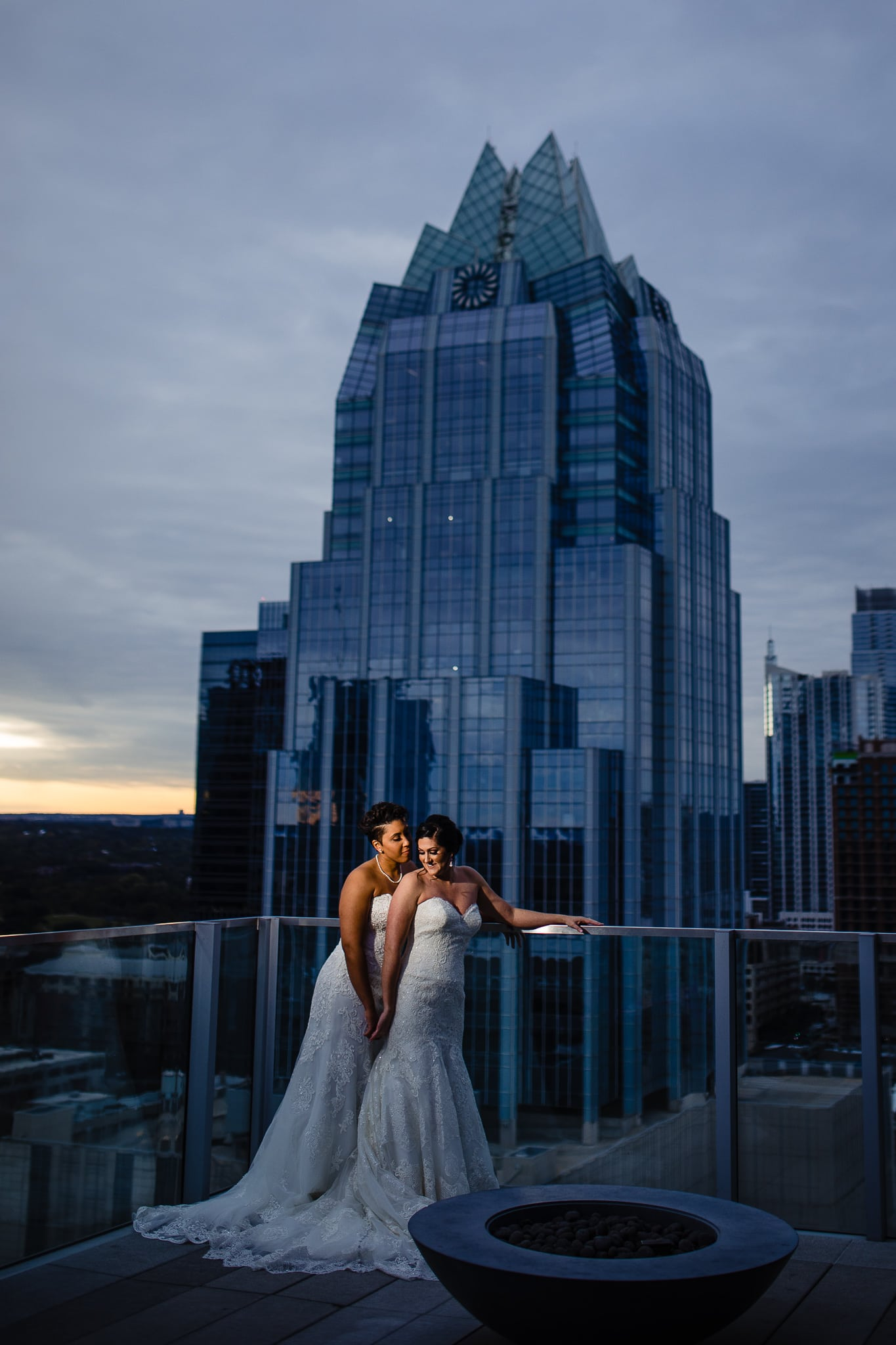 best wedding photographer in austin texas john winters photography westin downtown austin rooftop lgbtaiq same sex wedding vendor