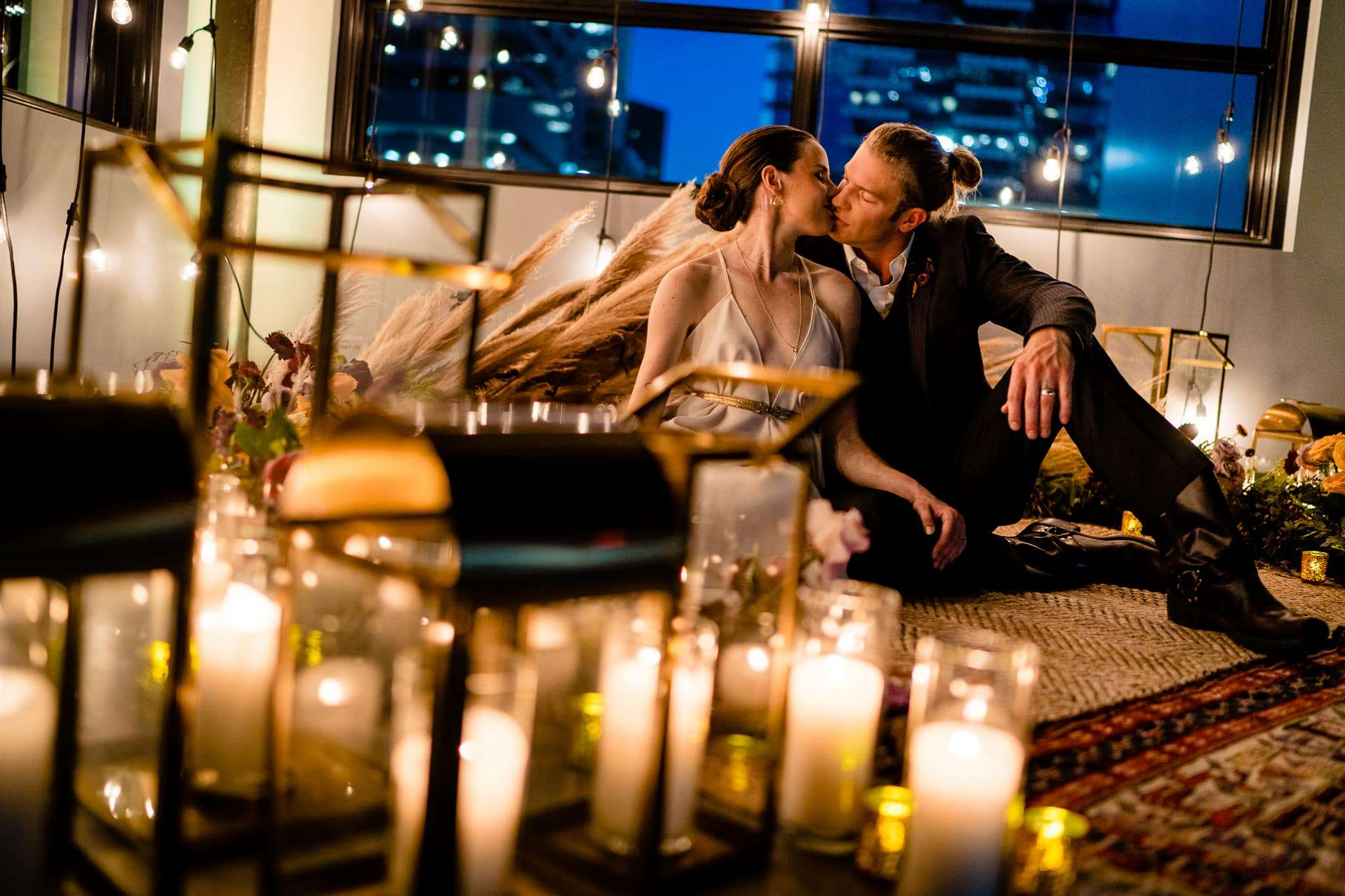 downtown austin elopement number one austin wedding photographer night photography the riley building