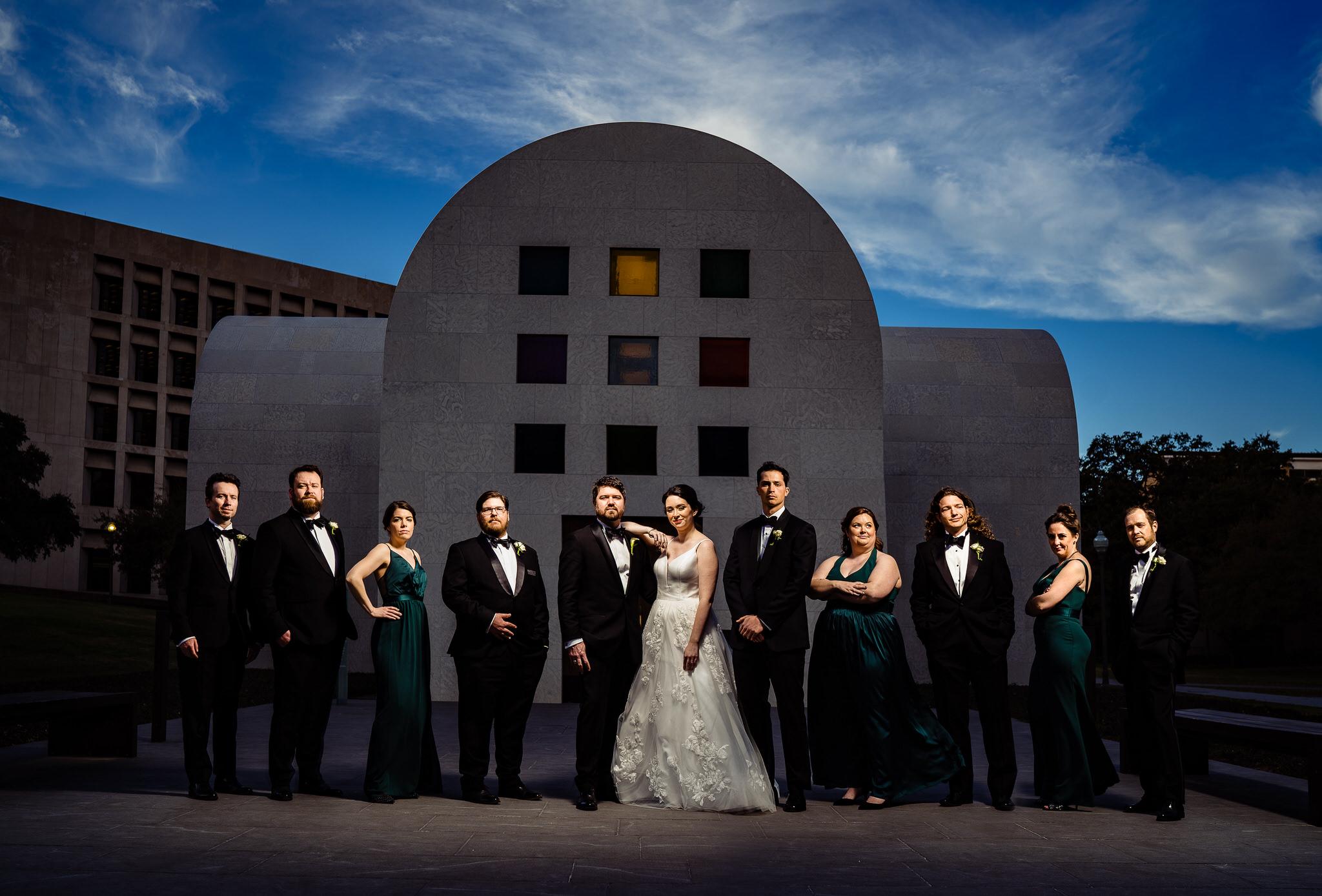 best austin wedding photographer john winters photography number 1 top rated downtown austin wedding blanton museum of art